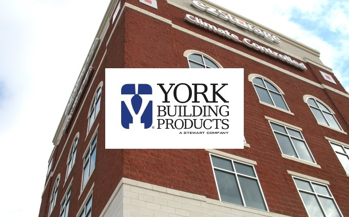York Building Products logo and building