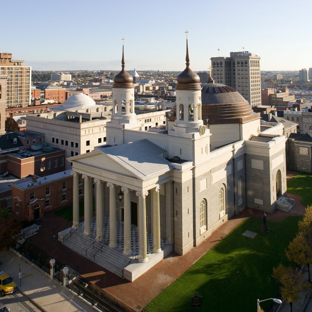 The Basilica renovations