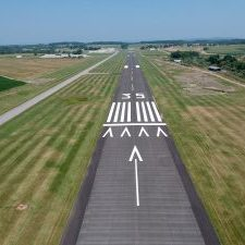 York Airport landing strip