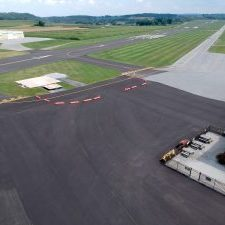Runway at the York Airport