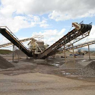 Conveyors at Western Slope Gravel