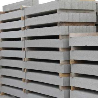 Lintels stacked at York Building Products